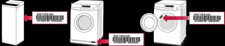 C00066183 INDESIT IWC5125FR//E N° 162 Durite détersif pour lave linge